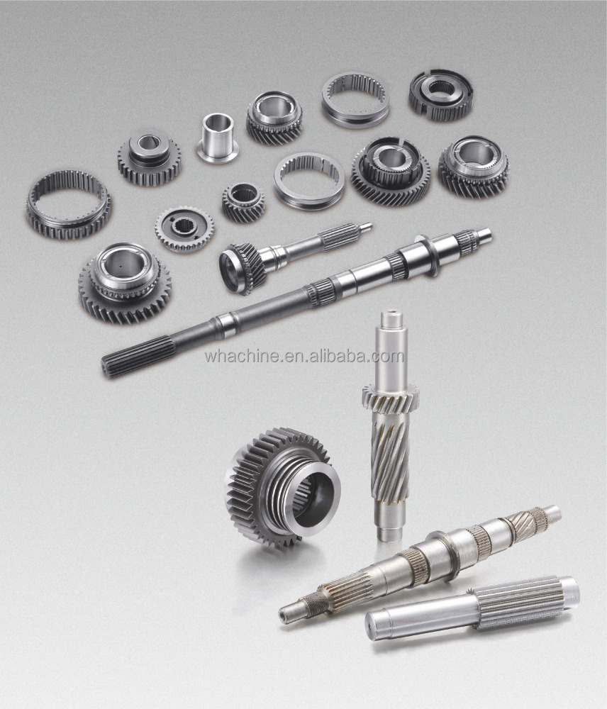 custom good quality gear wheel shaft made by whachinebrothers ltd.