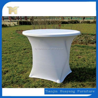 Graceful Round Plastic Folding Dining Table Outdoor