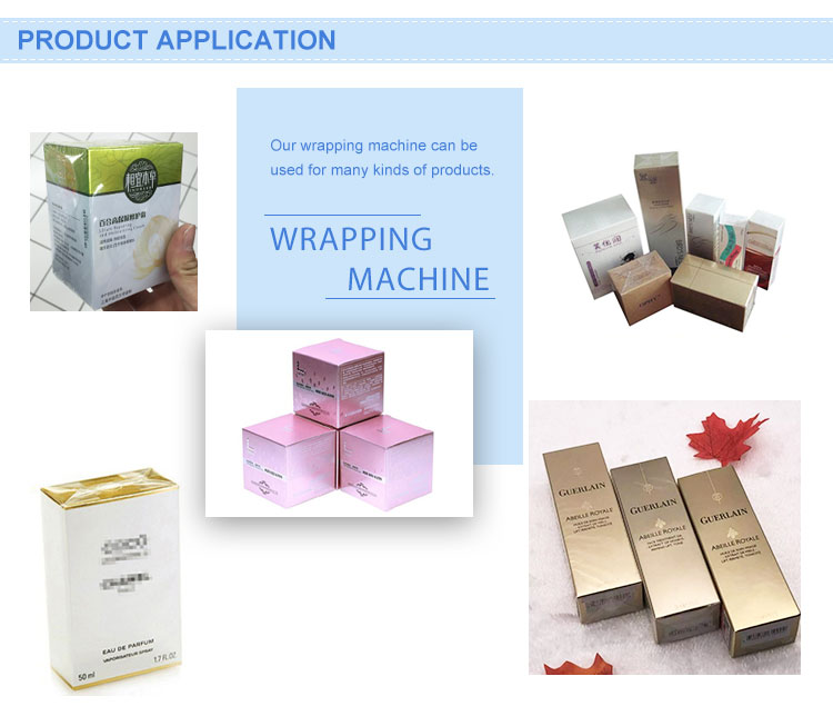 Top Quality Cd Cellophane Wrapping Box Machine