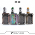 2018 Newset  Punk 220W kit With  Resin Tank Products Made of by zinc alloy+ABS+PC