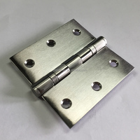 Stainless Steel 3.5 inch 2 ball bearing slow closing front wood door pivot hinge