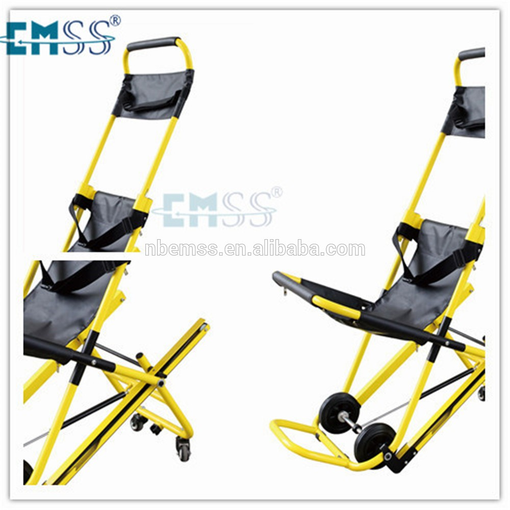Aluminum alloy electrical climb chairs for the disabled stair stretcher
