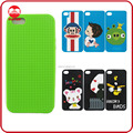 Wholesaler High Quality Soft Silicone Counted Blank Cross Stitch Phone Case for Iphone 6 Plus 5 Samsung