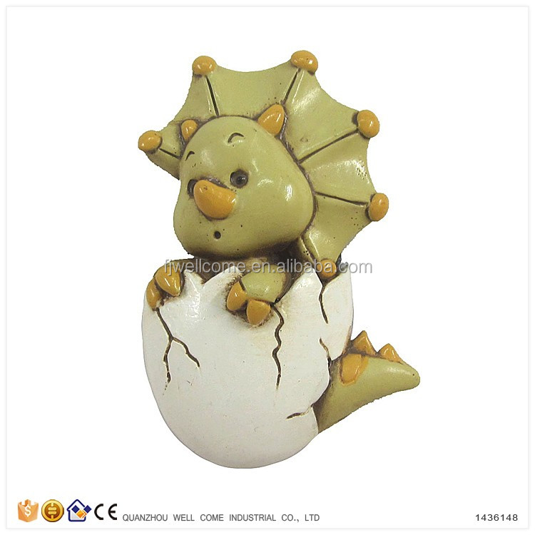 Decorative Refrigerator Magnets Hatching Dinosaur Eggs