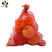 pe packaging mandarin orange fruit mesh net bag
