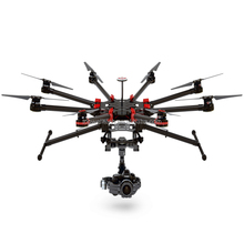 2016 DJI drone S1000+ Spreading Wings for DSLR Platform in the Air Professional Octa Copter Drone with 11KGS Loading Ability