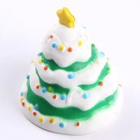 2018 new PU Foam Slow Rising Squeeze Slow Rising Christmas Tree Squishy toy