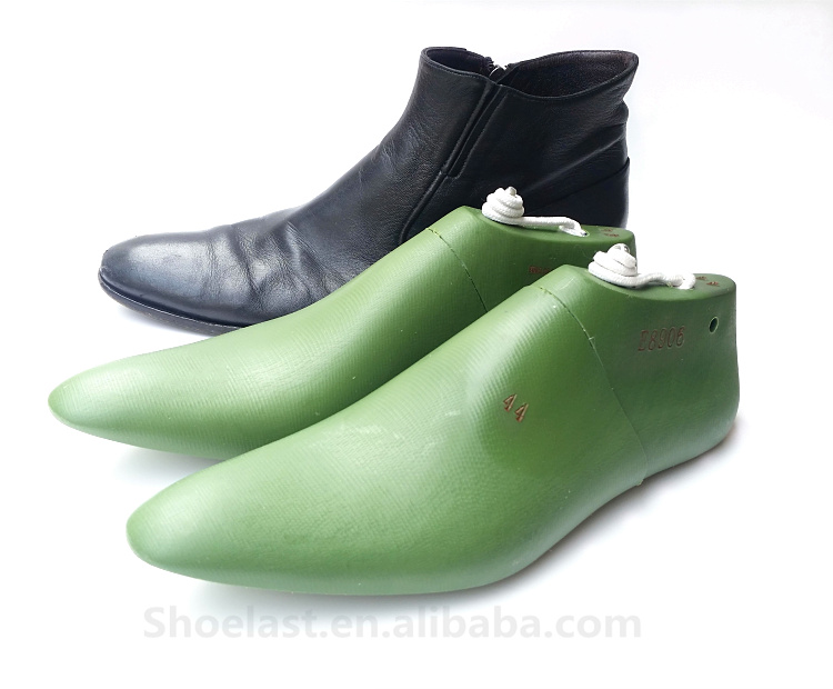 Men leather shoes plastic shoe last