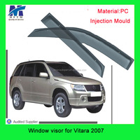 Injection mold type PC material car accessories Window visor For SUZUKI Vitara 2007