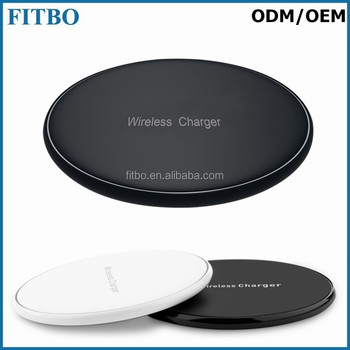 Portable QI Charger universal wireless charger for samsung I9600 S5 S6 S7