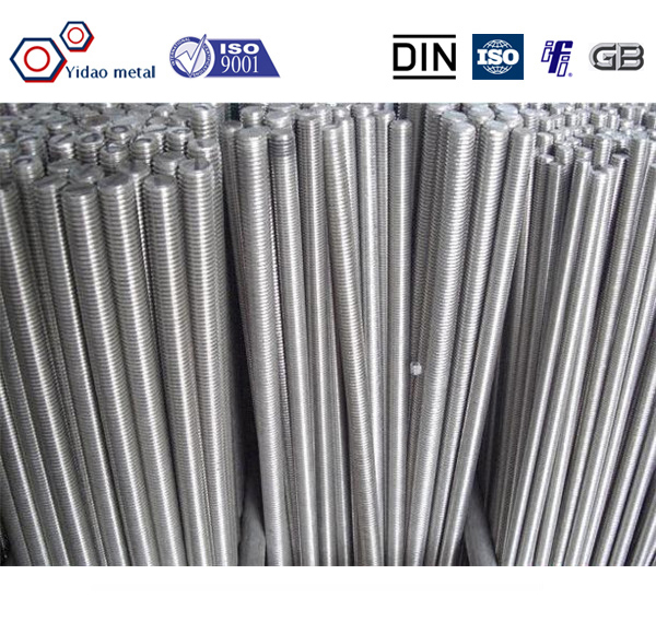 high tensile flexible metal rod,threaded rod with hole,thread rod with wing nut