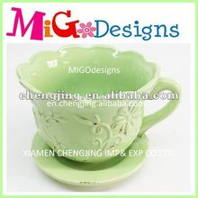 2014 new garden cheap ceramic flower pot