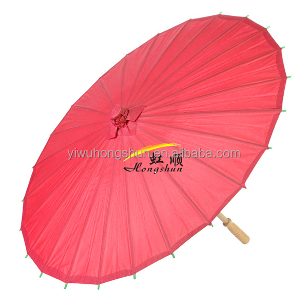 Cheap fancy parasols Custom Paper Umbrella parasol new product made in china