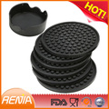 RENJIA Silicone wholesale blank custom free beer coasters for drink cup mat