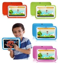 Alibaba best seller pc tablet laptop download free pc games 7 inch kid tablet 1024*600 RK3126 Dual cores