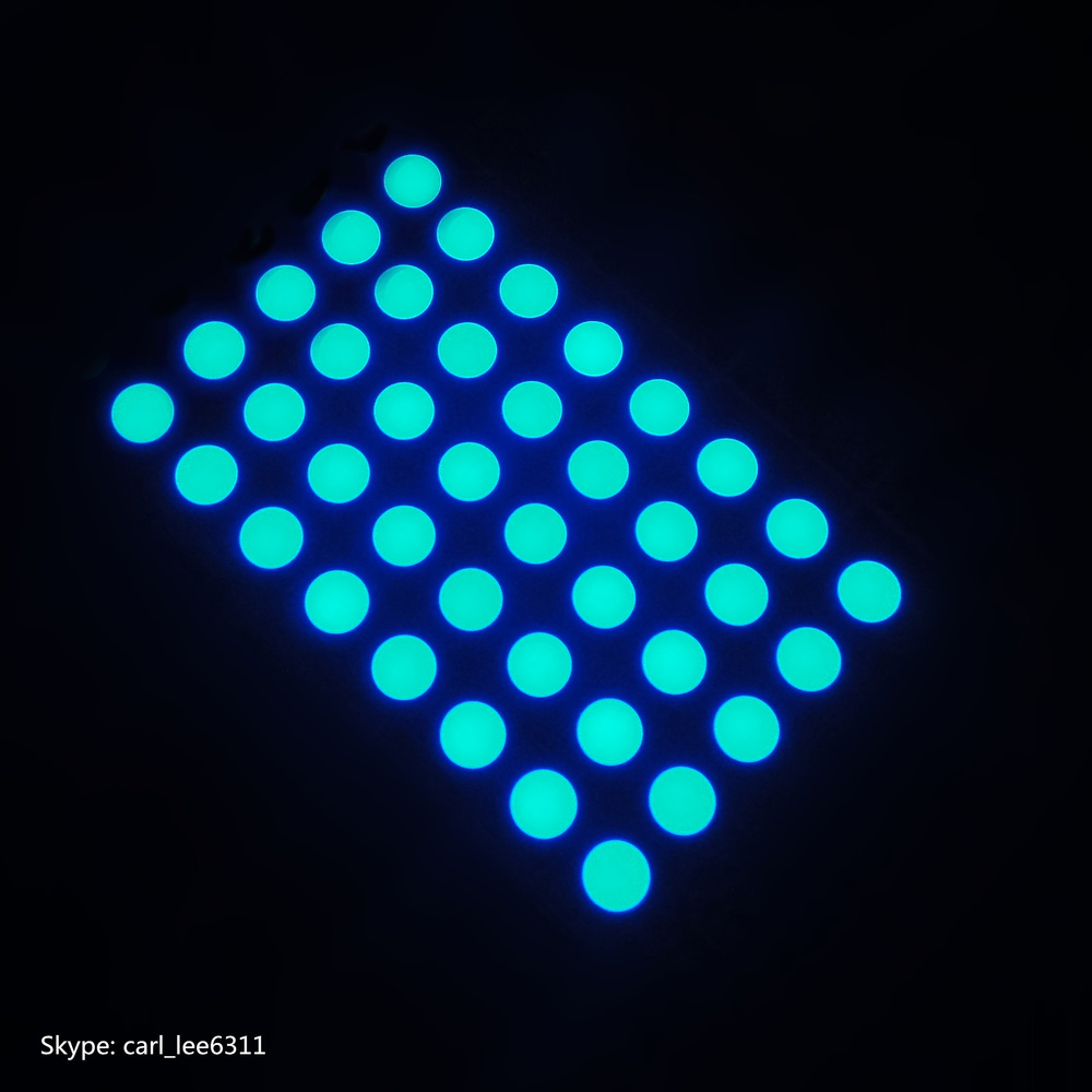 Super red common anode 8x5 Matrics 5mm dot matrix 5x8 led display