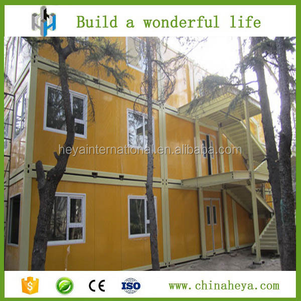 Low cost easy to install made of container dormitory floor plan design