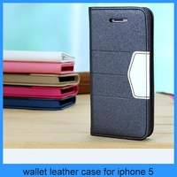 luxury high quanlity for iphone 5 iphone 5s leather case