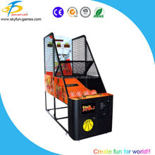 2016 Top grade amusement coin operated game indoor simulator shooting street basketball /arcade electronic game machine for sale