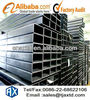 pre galvanized greenhouse rectangular steel tube and pipes price