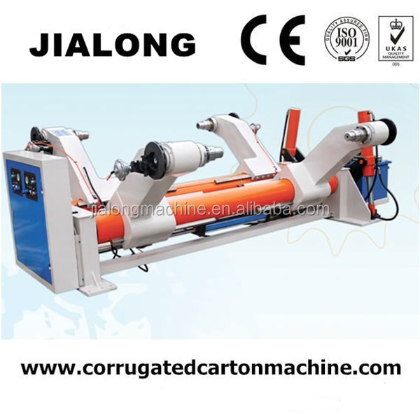 3/5/7 layer corrugated cardboard production line shaftless mill roll stand machine in DongGuang HeBei of china