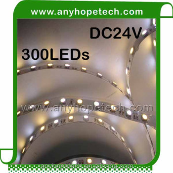 High quality low voltage different color cri 90 led strip