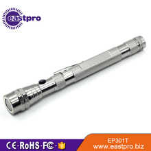 EASTPRO EP301T Magnetic 3 LED Flash light Telescopic Flexible Neck Pick Up Tool Telescopic Flashlight