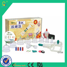 Home Used Electronic Easy Operated Portable New Medical Plastic Vacuum Cupping Kits Machine for Pain Relief