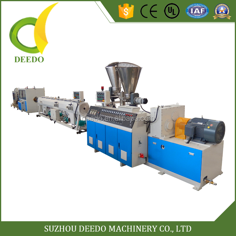 manufacture PVC UPVC pipe extruder machine with price