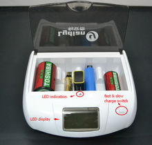 Alkaline Battery Emergency Charger with USB and supply OEM LYD-901