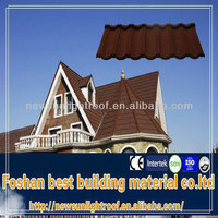 1340*420mm terracotta red roof tile /flat concrete roof tile/synthetic roof tile