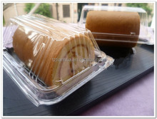 clear plastic food disposable container, plastic cake/cookie/fruit container