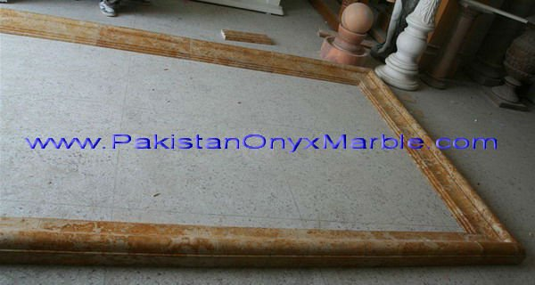Hand carved Indus Gold Window Surround, Marble Door Surrounding, Ston Window Surround,