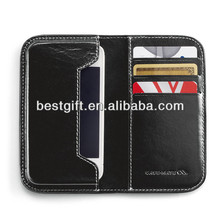 PU leather cell phone case for iphone5 flip case
