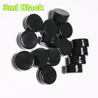 No leaking firm lid silicone bho container air tight concentrate slick silicone jar non stick silicone container 32mm