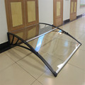 aluminum bracket and polycarbonate sheet door canopy,polycarbonate awning,rain shelter,window