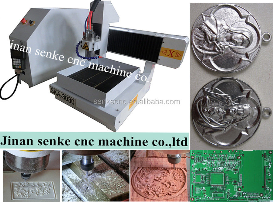 Cheap Mini 5 Axis 800w spindle motor 3040 USB2.0 port 4 axis cnc router