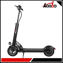 10 Inch 52v 600w Kick Folding Mobility Electric Scooter With pedals Front Suspension For Adults