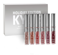 good quality Kylie Jenner lipstick KYLIE HOLIDAY EDITION 6PCS/SET By Kylie Jenner for wholesales