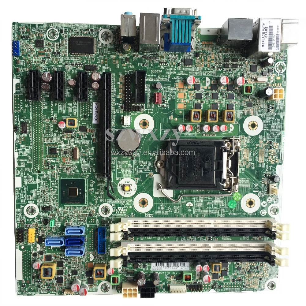 Original For HP 600 G1 SFF Desktop Motherboard MainBoard LAG1150 795972-001 795972-501 795972-601 696549-003