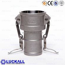 gi pipe coupling double female pipe coupling stainless steel shank coupling