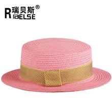 girl ladies hat floppy dicer100% paper straw hat to decorate