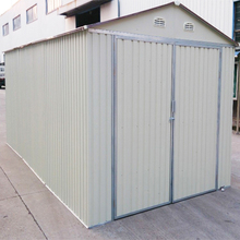modern new metal prefab steel garage,easy installed cheap Prefabricated Steel Garage,Low Cost Metal Building Car Sheds