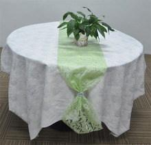 Wholesales Non Woven Multicolor Choice Flower Wrapping Paper Round Dining Table Wedding Decoration Table Runner