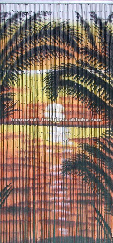 Bamboo Door Curtain Mt 1257   Buy Door Curtain,Door Curtain,Painted Bamboo  Door Curtains Product On Alibaba.com