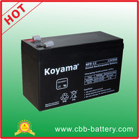Factory price lead acid AGM 12V 9ah battery for motor gate