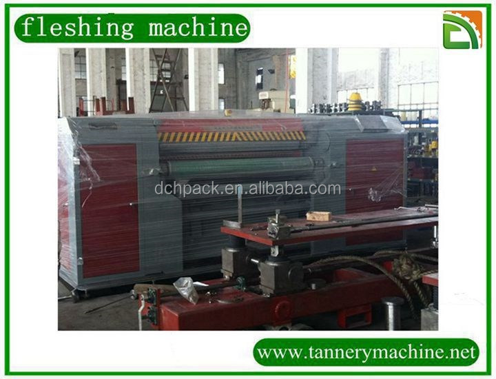 export china tannery machine for sheep leather fleshing