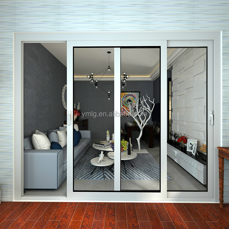 Elegant Design Residential Aluminum Frame Living Room Entrance <strong>Door</strong>
