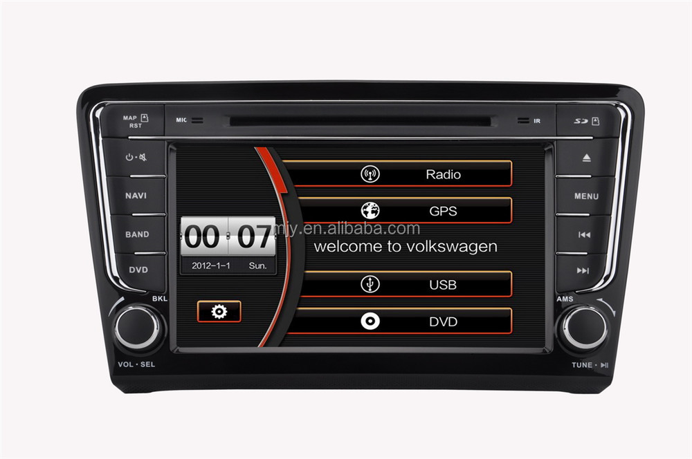 Car DVD player audio system for VW Santana 2013 type of gps navigation