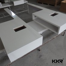 Prefab solid surface counter top as per client's drawing
